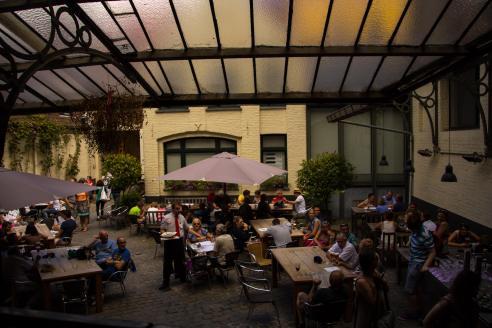 De Halve Mann courtyard